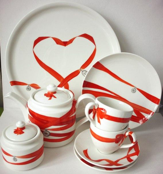 Подарки на свадьбу сервиз